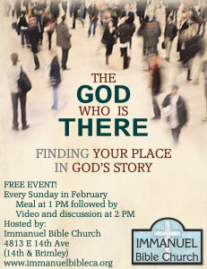 The God Who is There Feb
